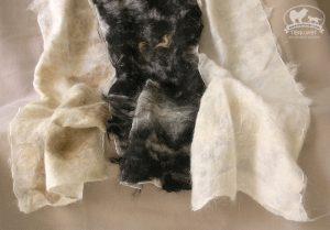 Schals aus Hundewolle