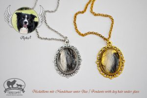 07 Ovale Medaillons Gold und Silber