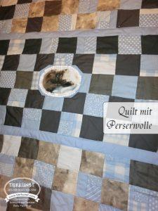 Quilt mit Perser Wolle