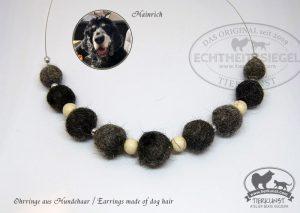 07 Halskette aus Hundewolle