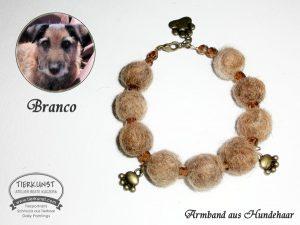 08 Armband de luxe aus Hundewolle
