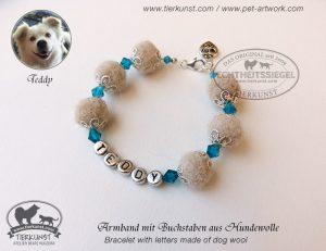 09 Armband aus Hundewolle