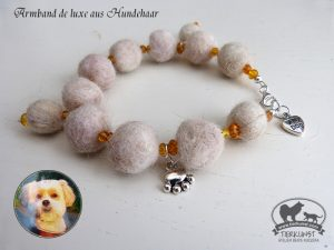 05 Armband de luxe aus Hundewolle