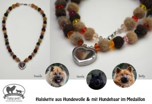 01 Halskette aus Eurasierwolle