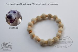 03 Armband aus Hundewolle