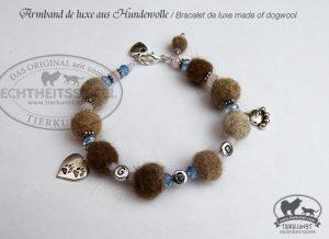02 Armband de luxe aus Hundewolle