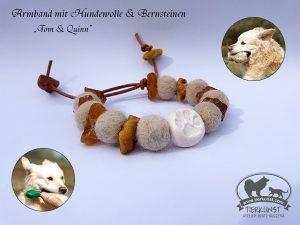 19 Armband aus Hundewolle