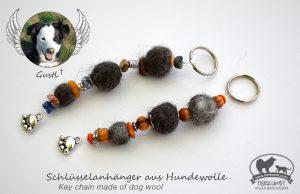 06 Schlüsselanhänger aus Hundewolle