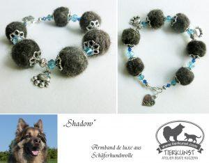 09 Armband de luxe aus Hundewolle